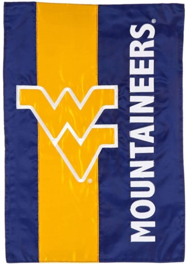 Evergreen West Virginia Mountaineers Embellish Garden Flag product image