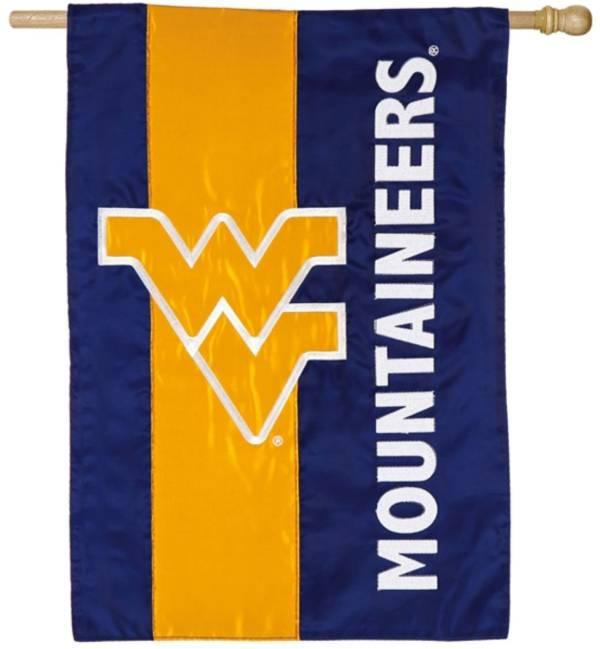 Evergreen West Virginia Mountaineers Embellish House Flag product image