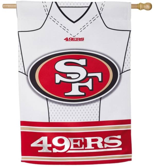 Evergreen San Francisco 49ers Jersey House Flag product image