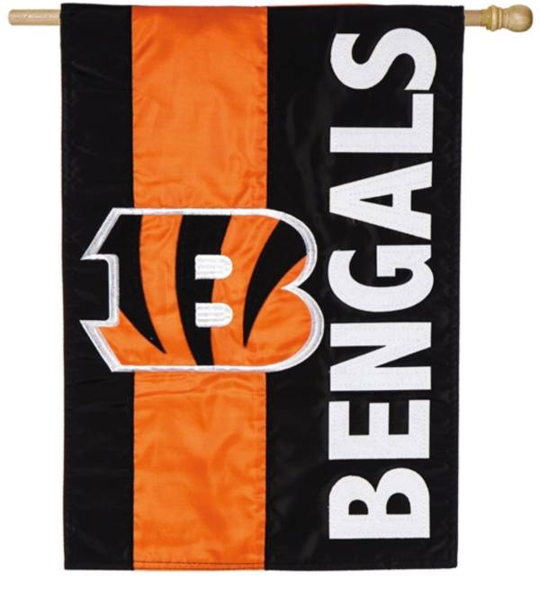 Evergreen Cincinnati Bengals Embellish House Flag product image