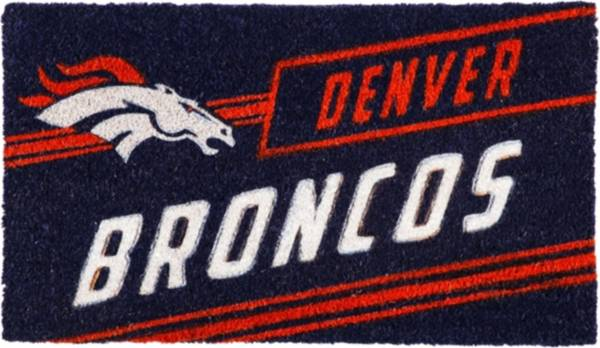 Evergreen Denver Broncos Coir Punch Mat product image