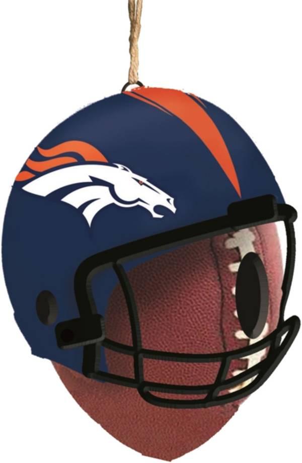 Evergreen Denver Broncos Helmet Birdhouse product image