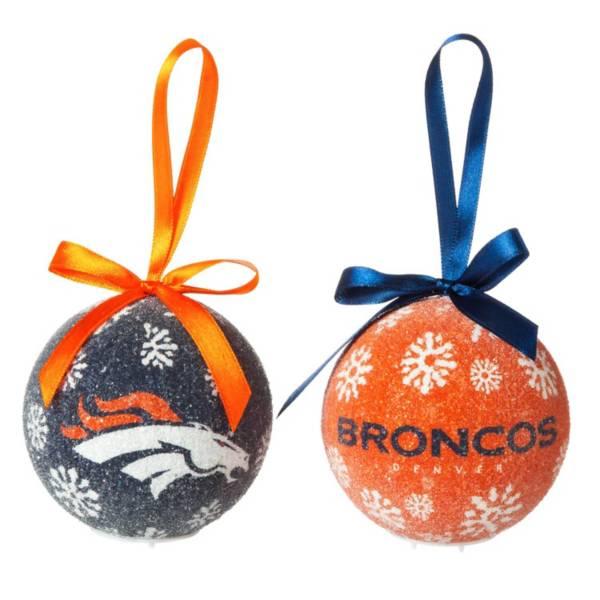 Evergreen Enterprises Denver Broncos LED Ornament Set product image