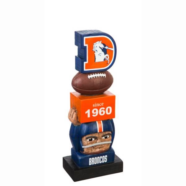 Evergreen Denver Broncos Vintage Tiki Totem product image