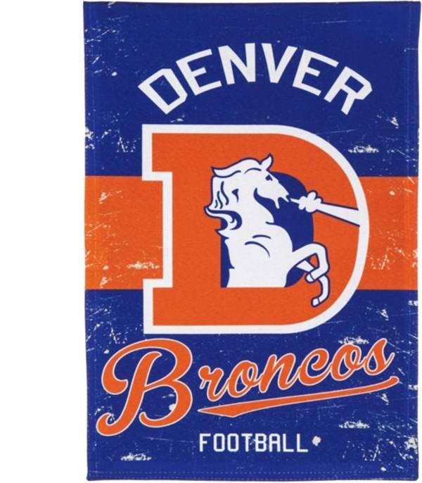 Evergreen Denver Broncos Vintage Garden Flag product image