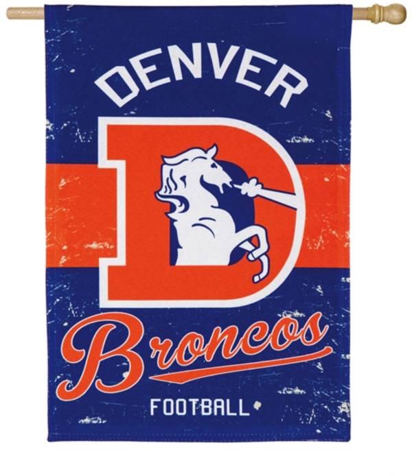 Evergreen Denver Broncos Vintage House Flag product image