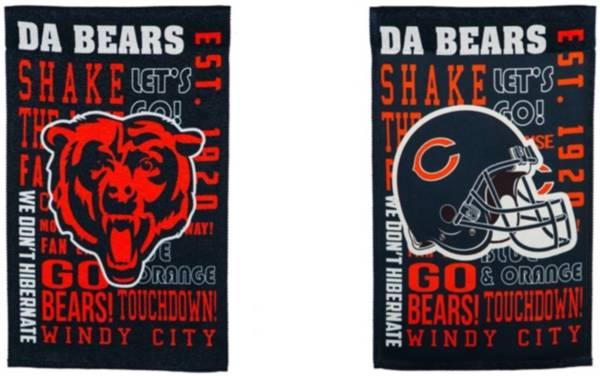 Evergreen Chicago Bears Fan Rule Garden Flag product image