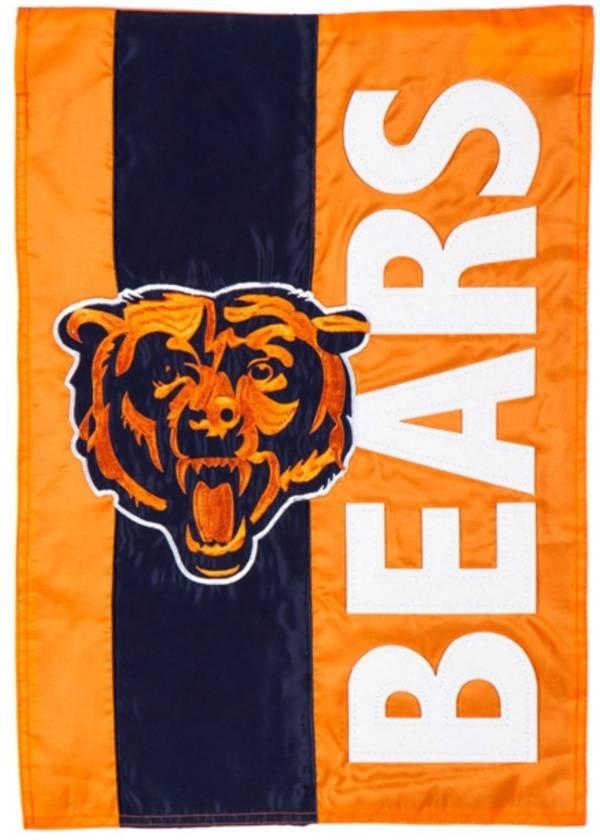 Evergreen Chicago Bears Embellish Garden Flag product image