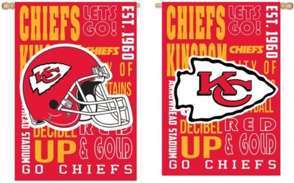 Evergreen Kansas City Chiefs Fan Rule House Flag product image