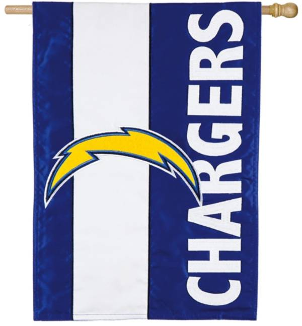 Evergreen Los Angeles Chargers Embellish House Flag product image
