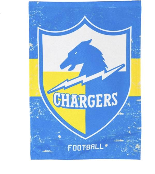 Evergreen Los Angeles Chargers Vintage Garden Flag product image