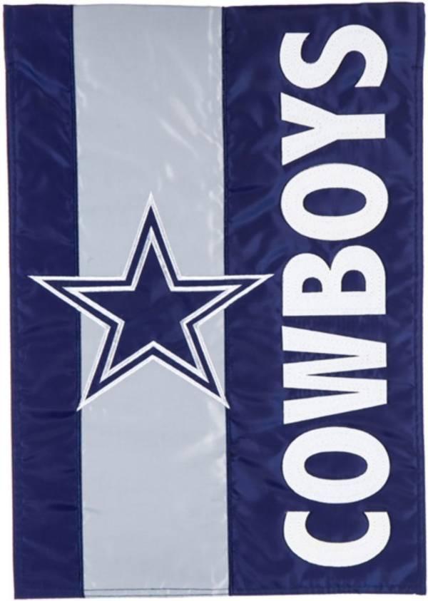 Evergreen Dallas Cowboys Embellish Garden Flag product image