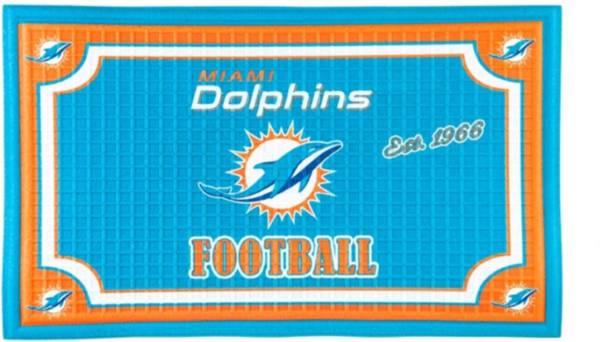 Evergreen Miami Dolphins Embossed Door Mat product image