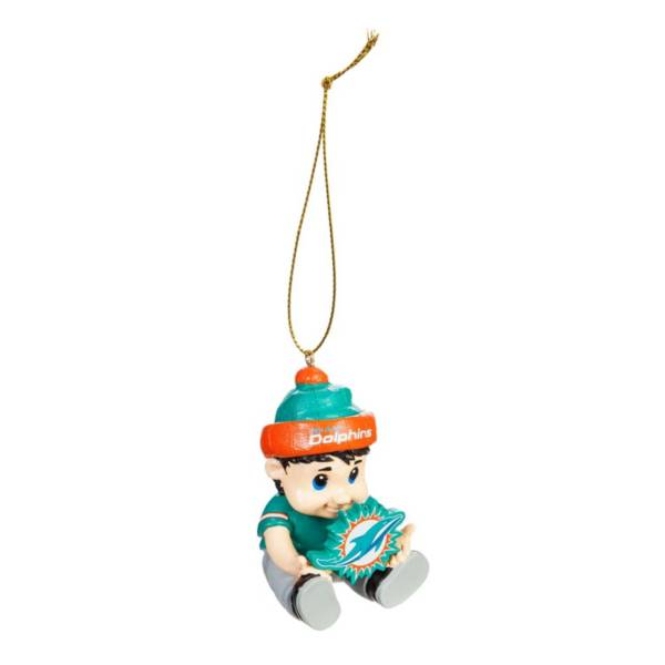 Evergreen Enterprises Miami Dolphins New Lil Fan Ornament product image
