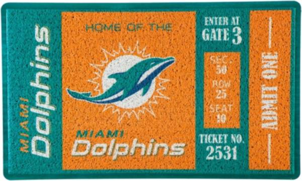 Evergreen Miami Dolphins Turf Mat product image