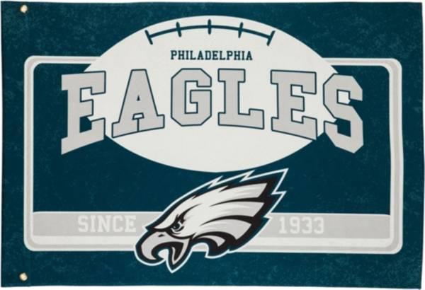 Evergreen Philadelphia Eagles Linen Estate Flag product image