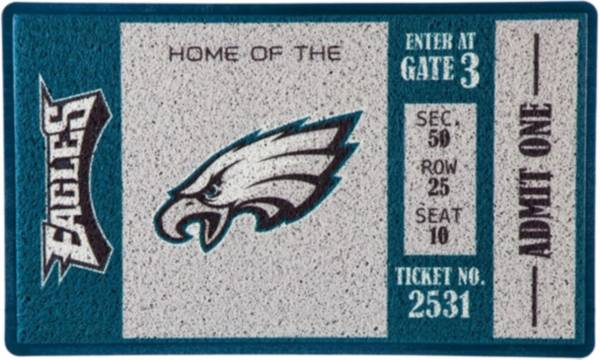 Evergreen Philadelphia Eagles Turf Mat product image