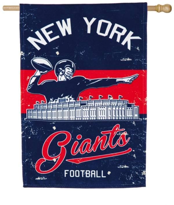Evergreen New York Giants Vintage House Flag product image