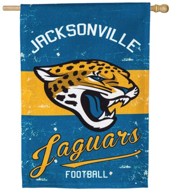 Evergreen Jacksonville Jaguars Vintage House Flag product image