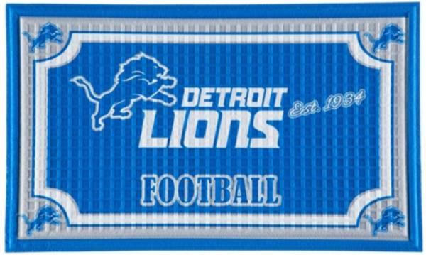 Evergreen Detroit Lions Embossed Door Mat product image
