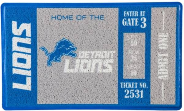 Evergreen Detroit Lions Turf Mat product image