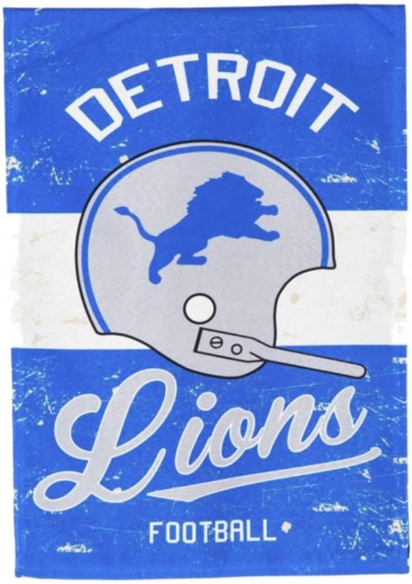 Evergreen Detroit Lions Vintage Garden Flag product image
