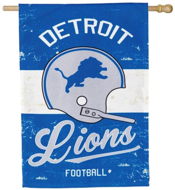 Evergreen Detroit Lions Vintage House Flag product image