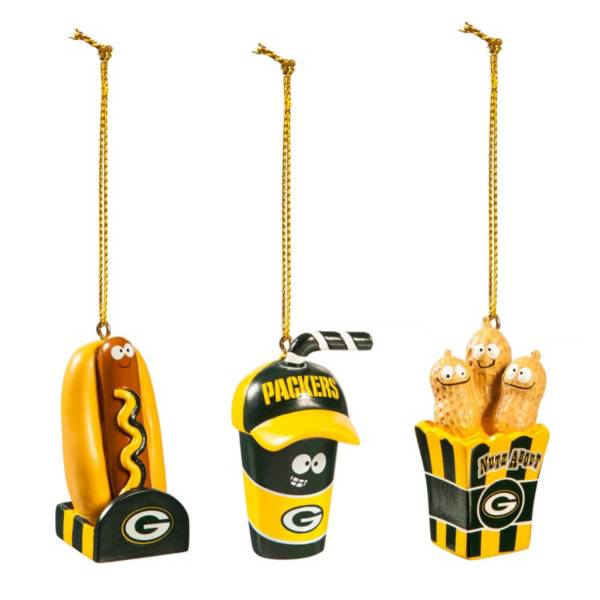 Evergreen Enterprises Green Bay Packers Snack Pack Ornament product image
