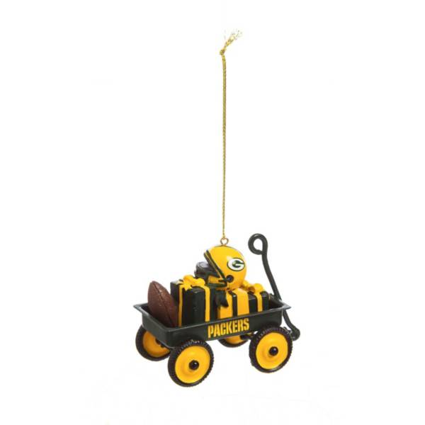 Evergreen Enterprises Green Bay Packers Team Wagon Ornament product image