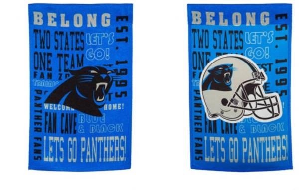 Evergreen Carolina Panthers Fan Rule Garden Flag product image