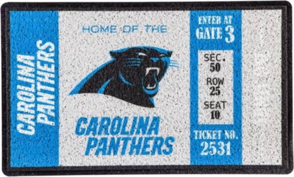Evergreen Carolina Panthers Turf Mat product image