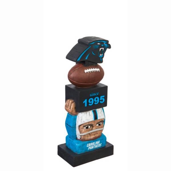 Evergreen Carolina Panthers Vintage Tiki Totem product image