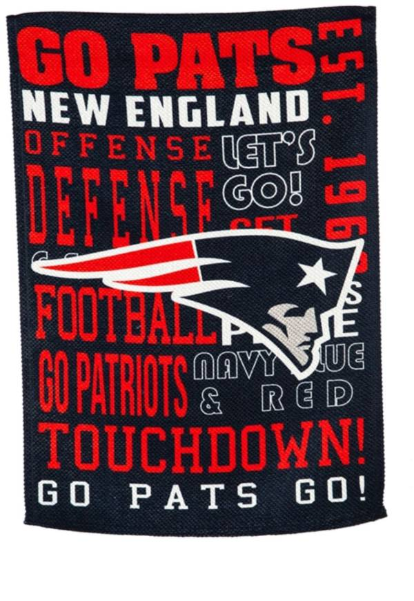 Evergreen New England Patriots Fan Rule House Flag product image