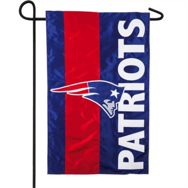 Evergreen New England Patriots Embellish Garden Flag product image