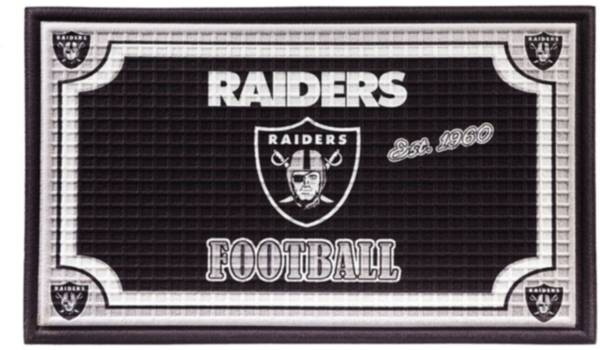 Evergreen Las Vegas Raiders Embossed Door Mat product image