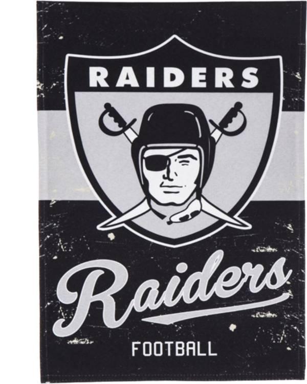 Evergreen Oakland Raiders Vintage Garden Flag product image