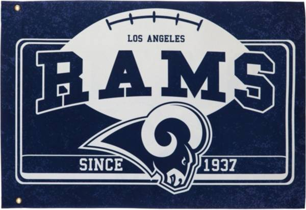 Evergreen Los Angeles Rams Linen Estate Flag product image