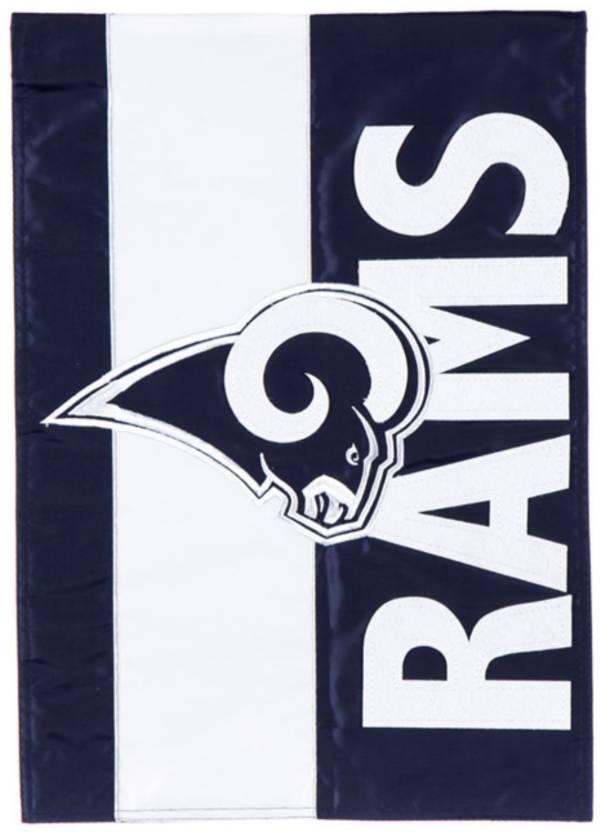 Evergreen Los Angeles Rams Embellish Garden Flag product image