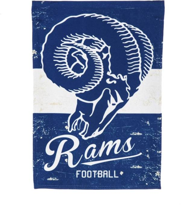 Evergreen Los Angeles Rams Vintage Garden Flag product image