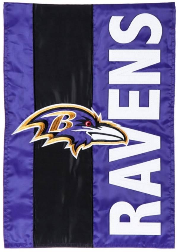 Evergreen Baltimore Ravens Embellish Garden Flag product image