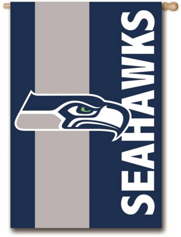 Evergreen Seattle Seahawks Embellish House Flag product image