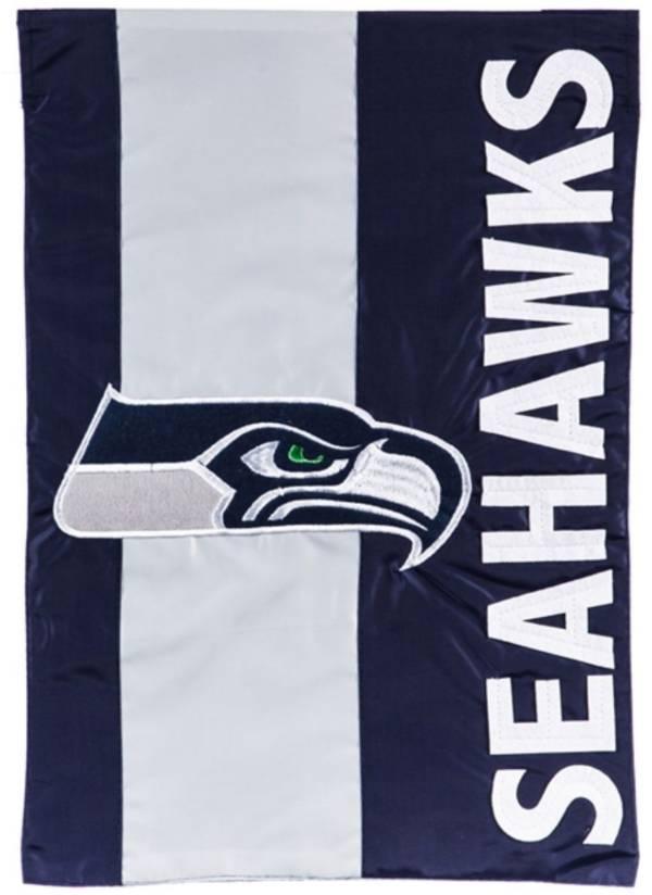 Evergreen Seattle Seahawks Embellish Garden Flag product image