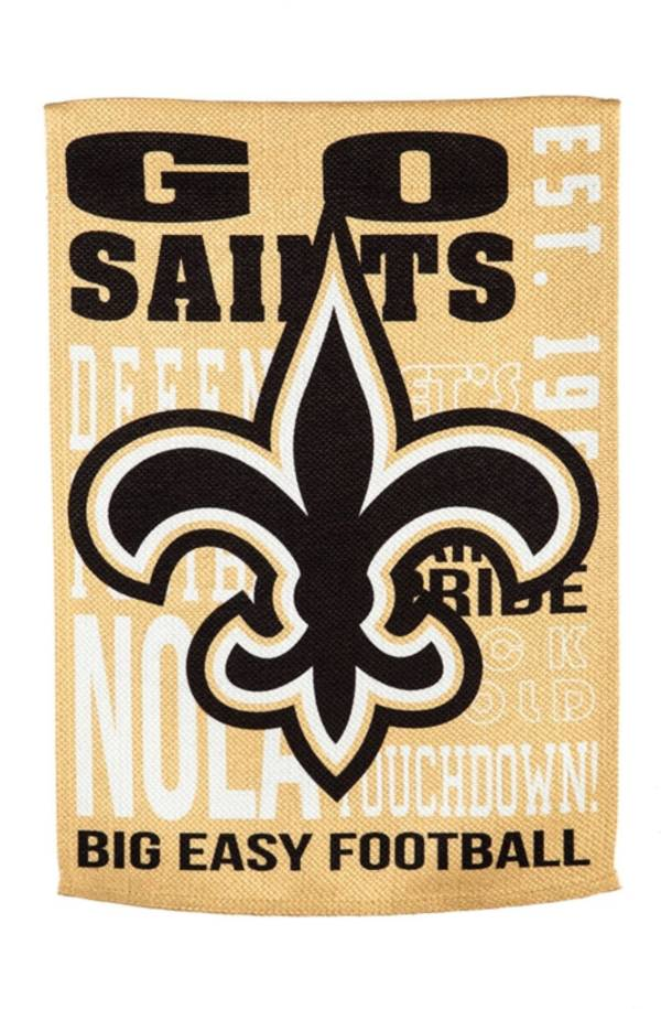 Evergreen New Orleans Saints Fan Rule House Flag product image