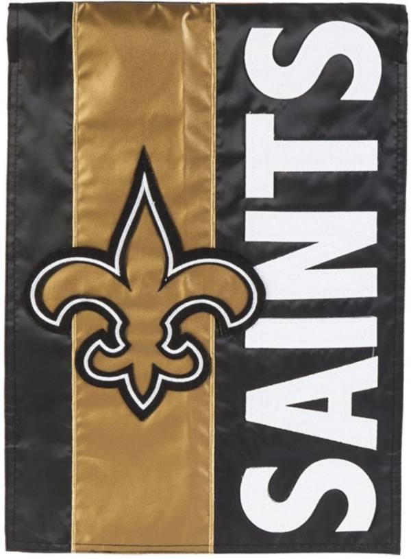 Evergreen New Orleans Saints Embellish House Flag product image