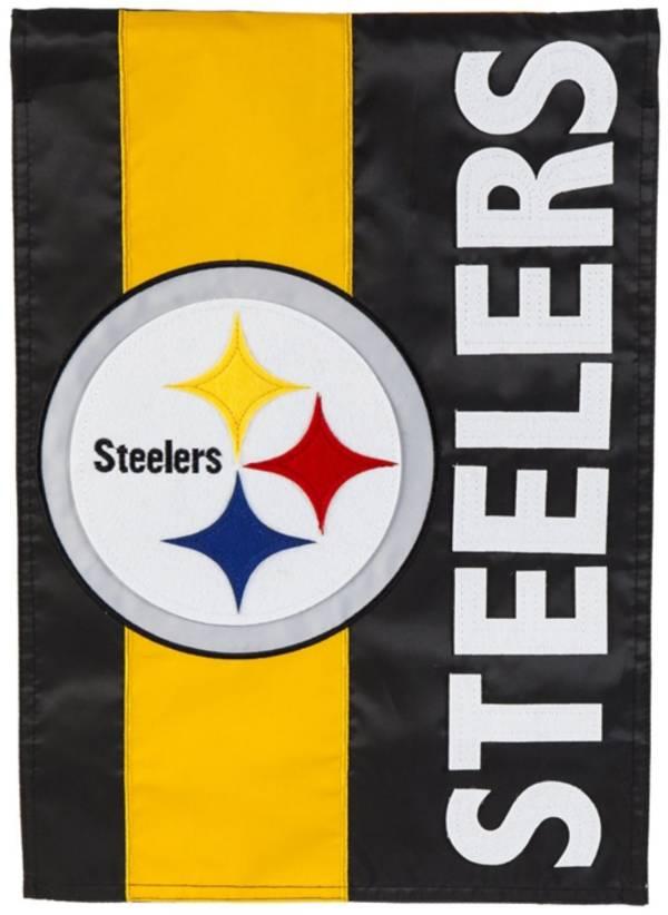 Evergreen Pittsburgh Steelers Embellish House Flag product image