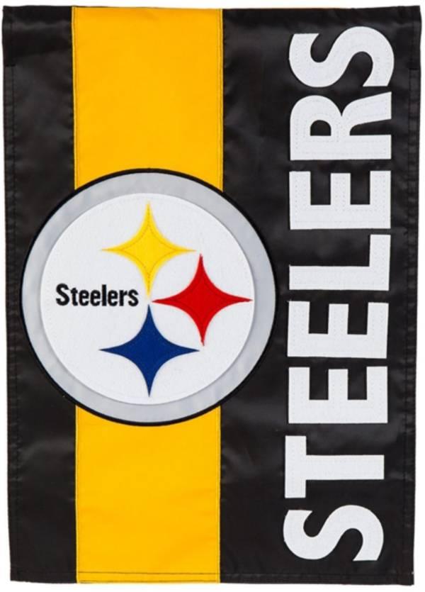 Evergreen Pittsburgh Steelers Embellish Garden Flag product image
