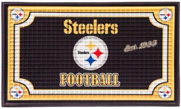 Evergreen Pittsburgh Steelers Embossed Door Mat product image