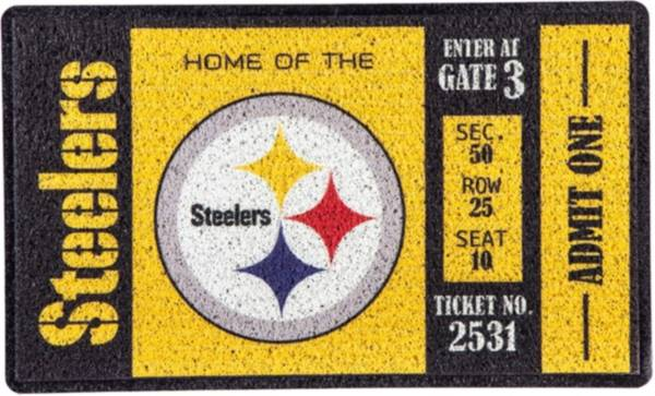 Evergreen Pittsburgh Steelers Turf Mat product image