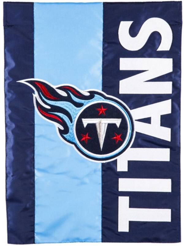 Evergreen Tennessee Titans Embellish Garden Flag product image