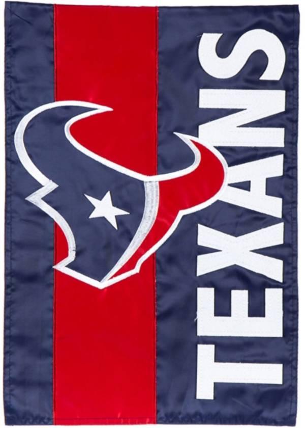 Evergreen Houston Texans Embellish Garden Flag product image